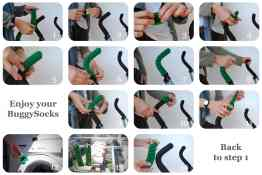 Buggy socks - instructions