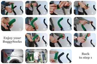Buggy socks - instructions