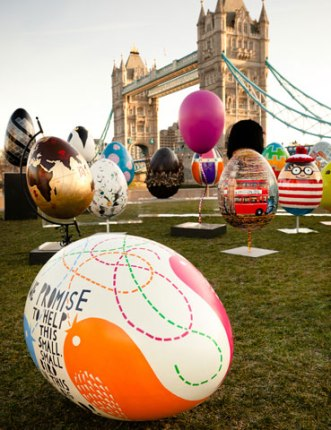 The big egg hunt London