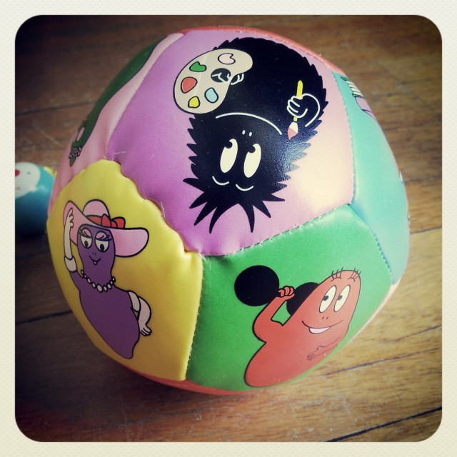 ballon-barbapapa