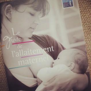 Guide allaitement inpes - couverture