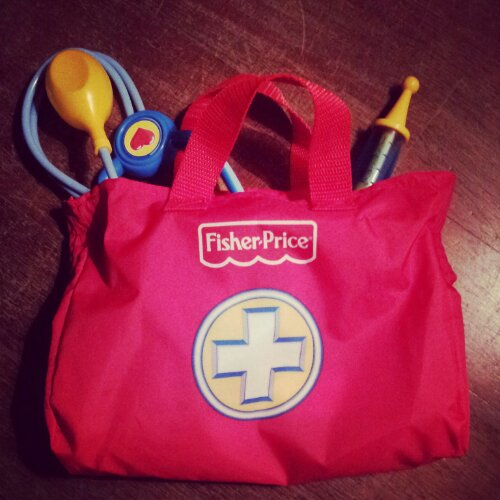 Trousse de médecin Fisher Price
