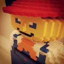 Figurine Lego pour séance shooting