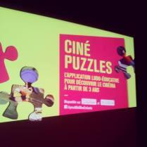Nouvelle appli Ciné puzzles