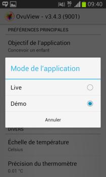 Ovuview - Mode